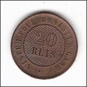 20 Reis - 1889 - sob  (798)