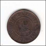 40 reis - 1911 - mbc/sob  (829)