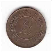 40 Reis - 1910 - mbc/sob (828)