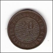 20 Reis - 1911 -sob/fc (814)