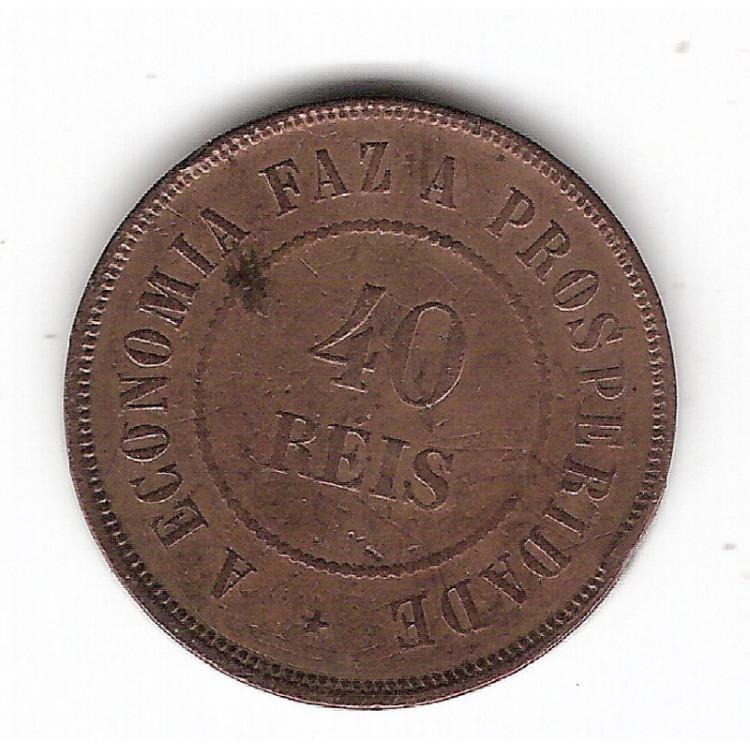 40 Reis - 1889 - mbc/sob (816)