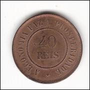 40 Reis - 1894 - sob/fc (818)