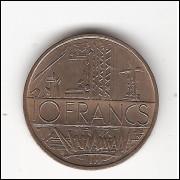 FRANÇA - 10 Francs 1975 - KM#940